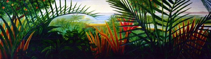 South Florida Mural Painter Bill Savarese