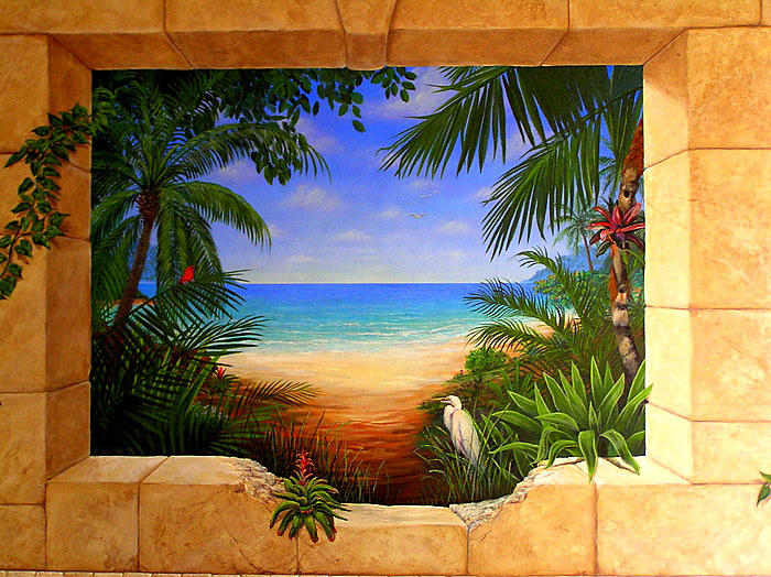 Related keywords suggestions for tropical murals for American tropical mural
